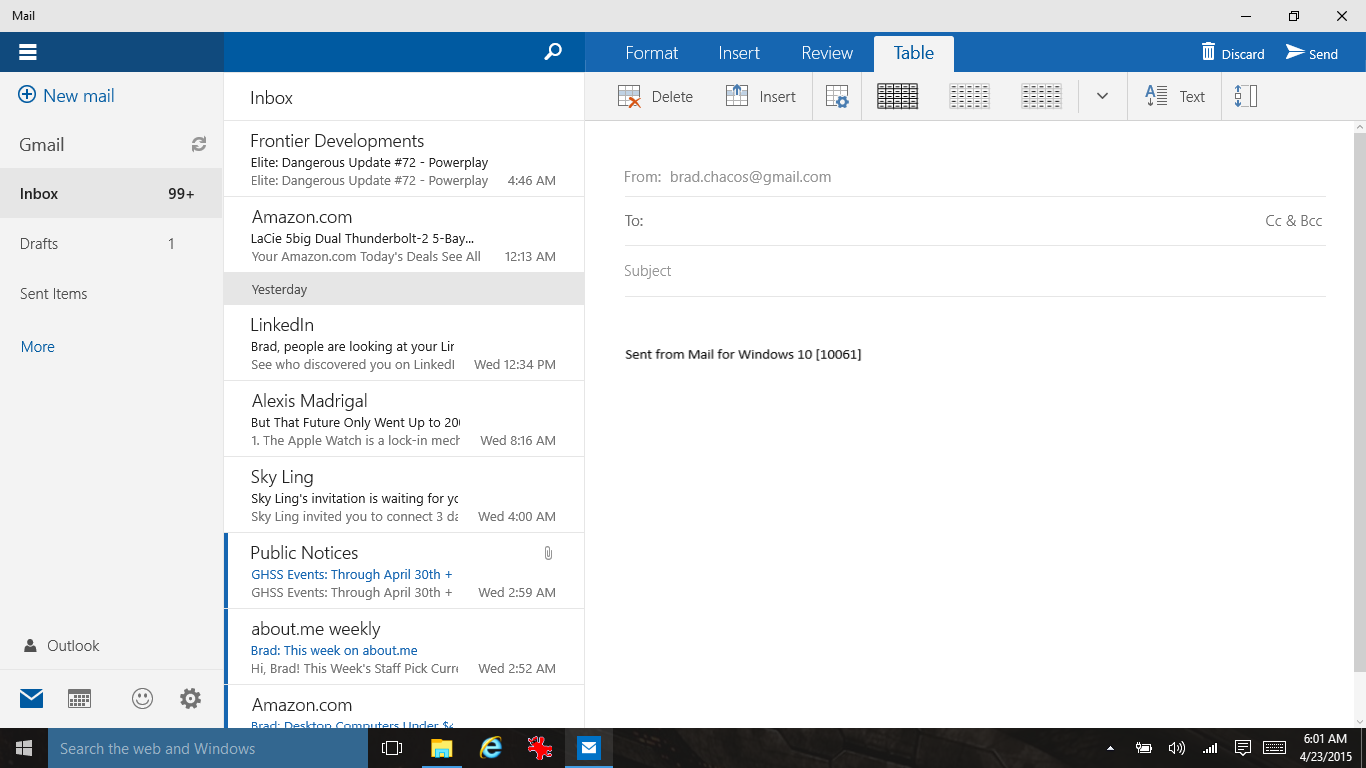 Windows 10 build 10061 hands-on: Exploring the new Technical ...