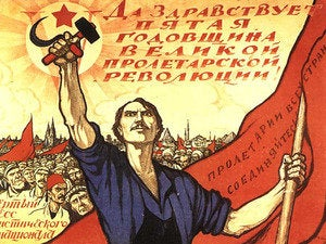 soviet propaganda October revolution