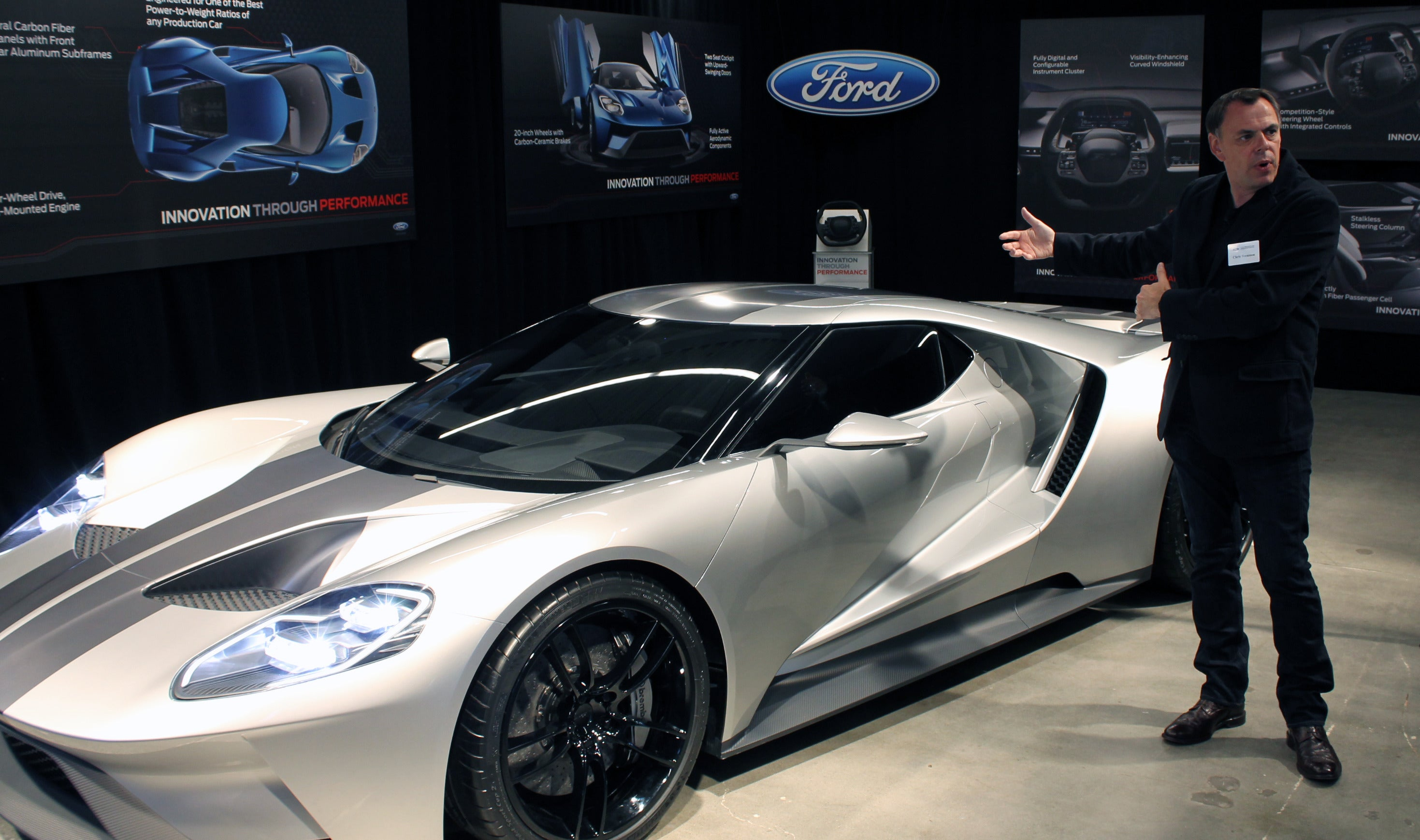 The Ford Gt Is Absolutely Sick With High Tech Innovation