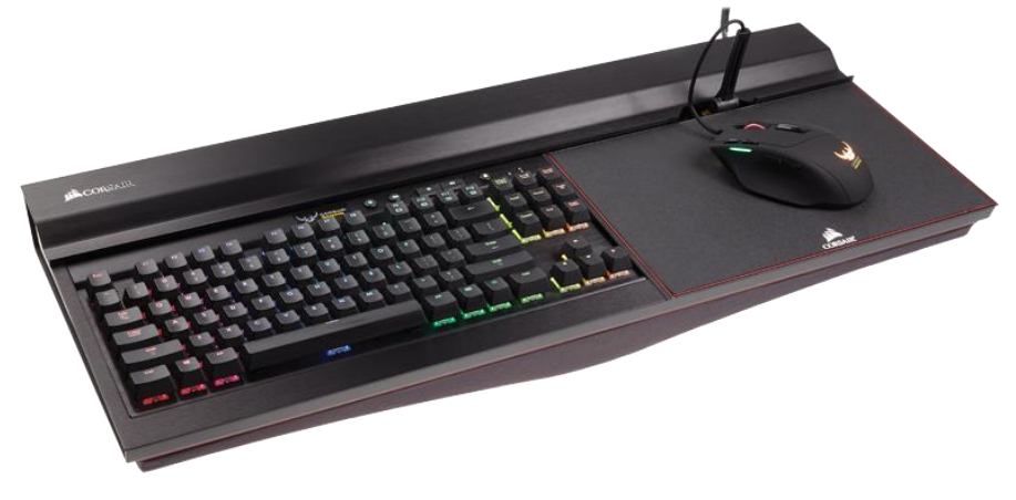 Corsair 39 s bulldog pc kit will bring next gen skylake cpu for Living room keyboard and mouse