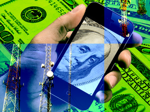 telecoms money cash smartphones carriers
