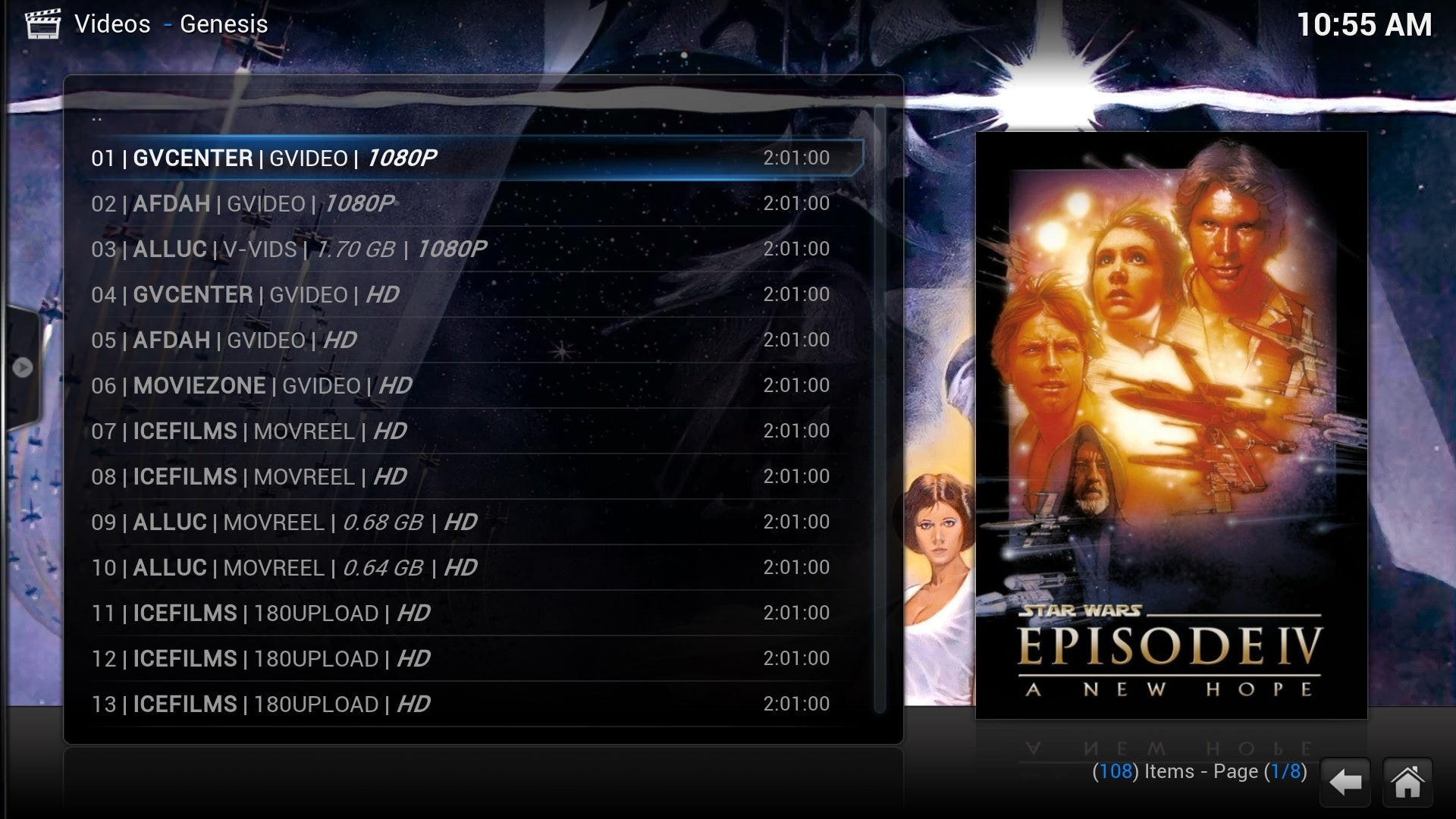 TVMC for Kodi makes video piracy uncomfortably easy