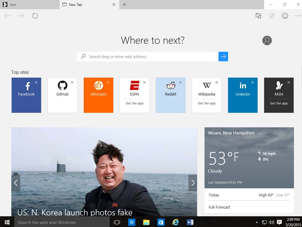 New Windows 10 preview build drops with Edge browser improvements ...