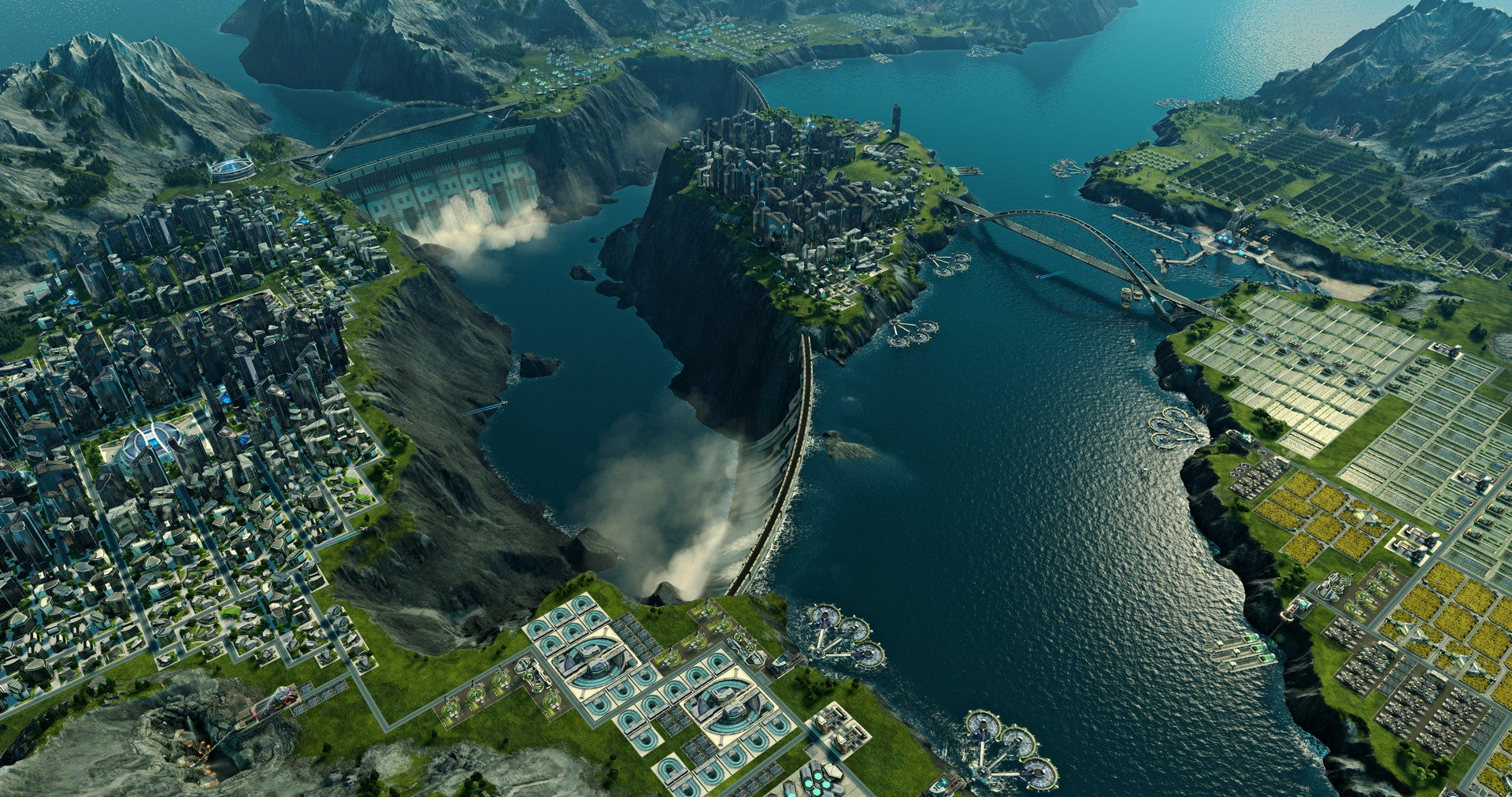 Anno 2205 Hands On This City Builder Shoots For The Moon