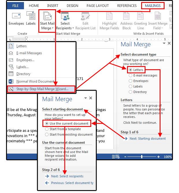 Mail Merge master class: How to merge your Excel contact database ...