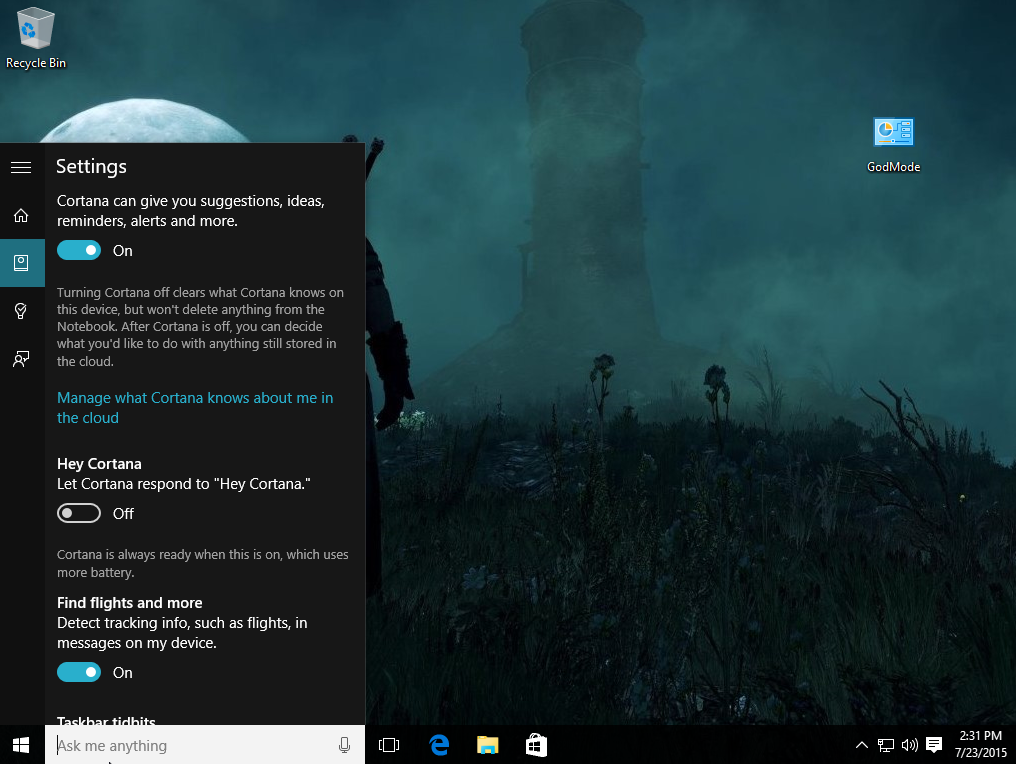 Don t need to type cortana can listen for the sound of your voice