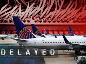 united airlines delayed flight