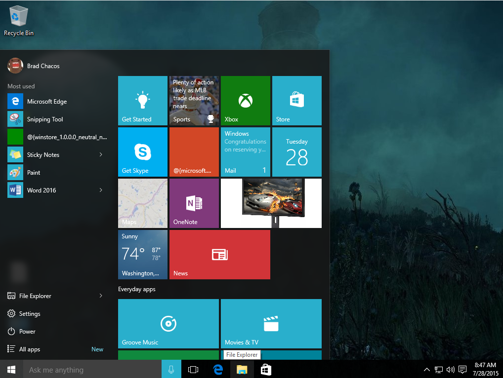 Windows 8 2015