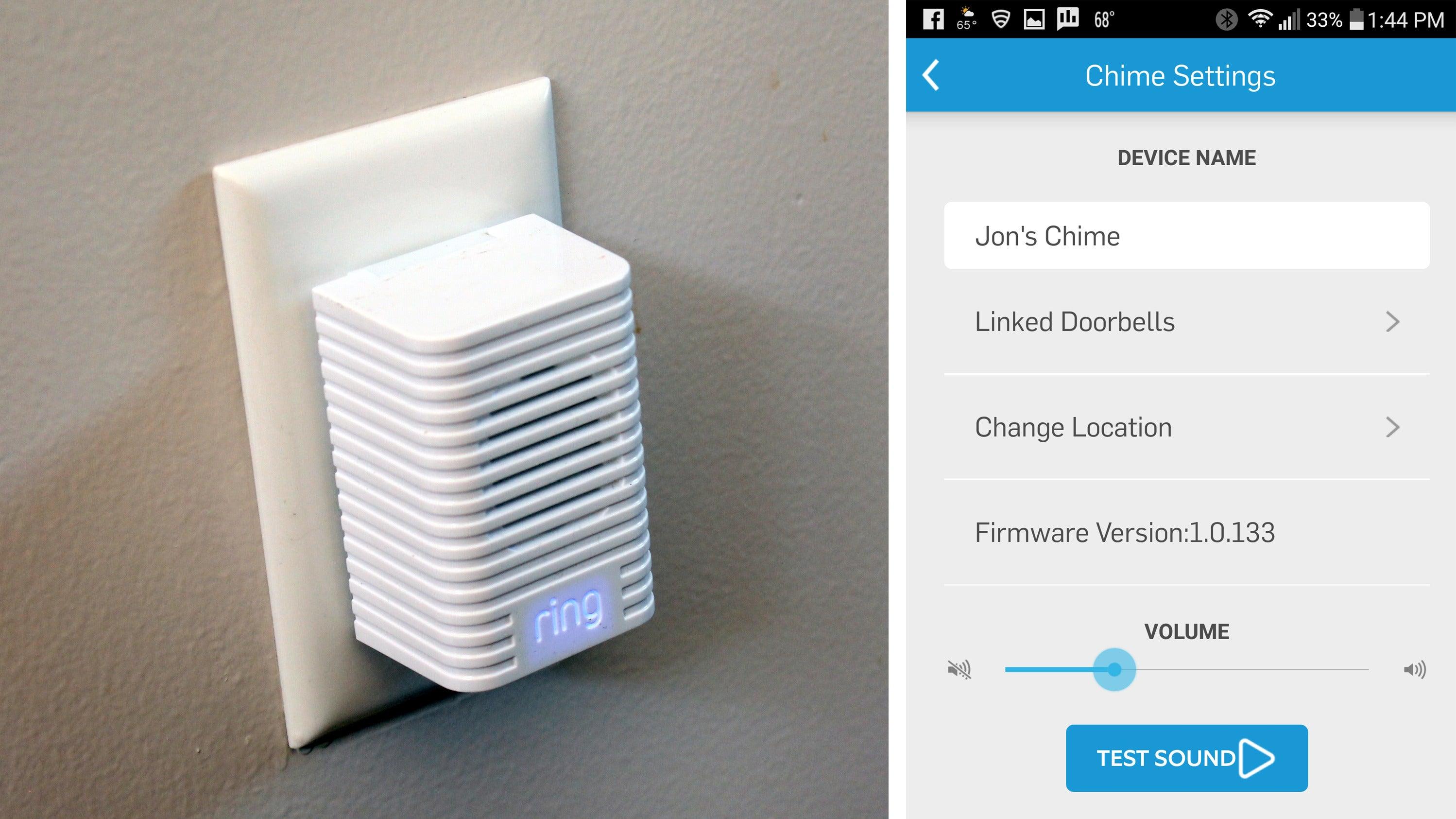 Ring Video Doorbell Chime Integration