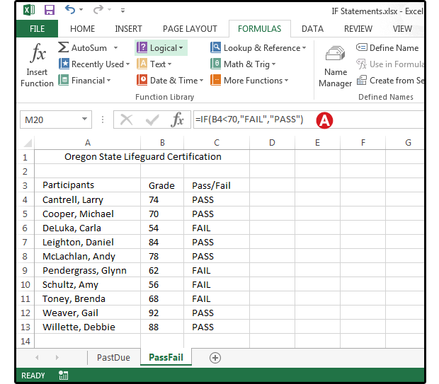 Ediblewildsus  Remarkable Excel Logical Formulas  Simple If Statements To Get Started  With Handsome Excel Logical Formulas Screen With Amusing Formula Definition Excel Also Plotting Bar Graphs In Excel In Addition Pareto Diagram Excel And Remove Unique Values In Excel As Well As How To Make A Cash Flow Diagram In Excel Additionally Excel Append From Pcworldcom With Ediblewildsus  Handsome Excel Logical Formulas  Simple If Statements To Get Started  With Amusing Excel Logical Formulas Screen And Remarkable Formula Definition Excel Also Plotting Bar Graphs In Excel In Addition Pareto Diagram Excel From Pcworldcom