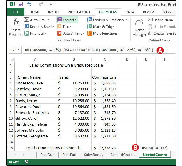 Excel Logical Formulas 5 Simple If Statements To Get
