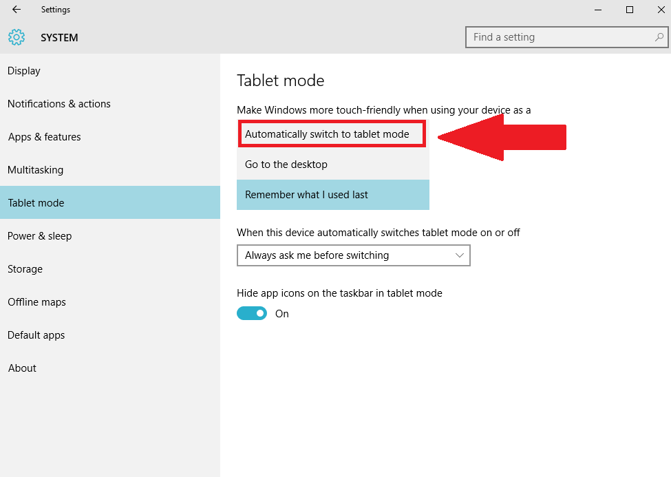 How to boot into Windows 10's Tablet Mode every time you start ...