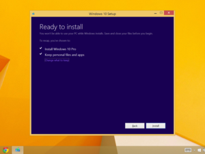 windows 10 install