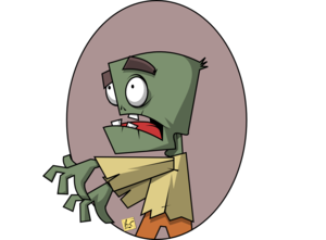 zombie clip art edit