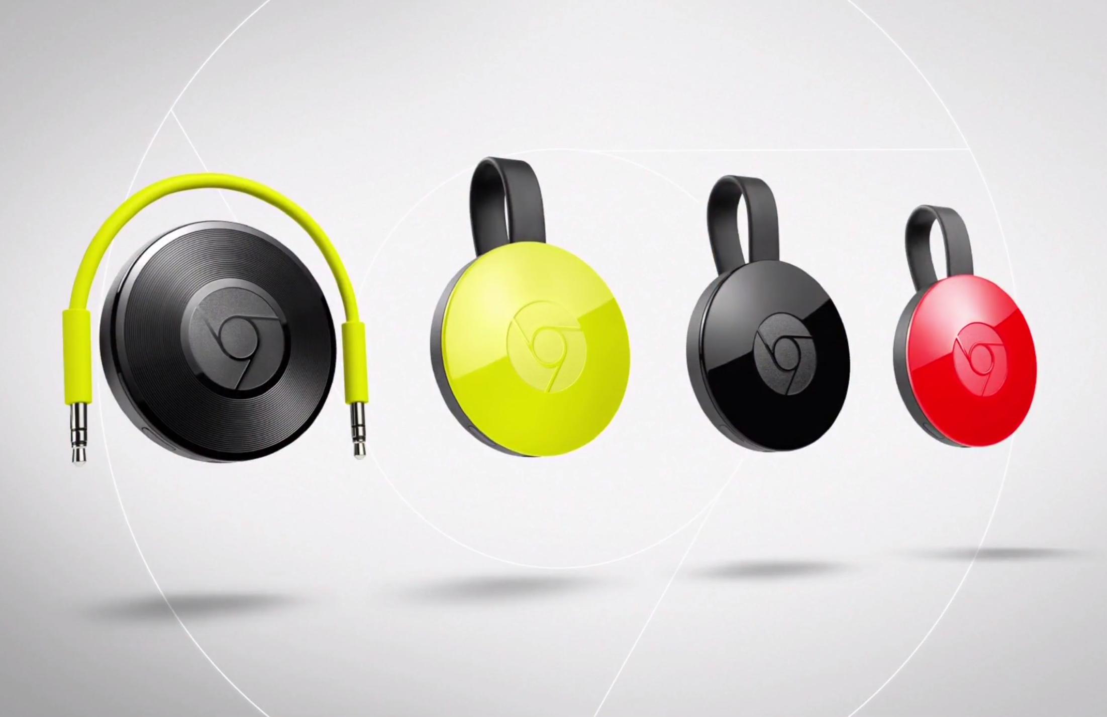 Nye Chromecasts Revealed Chromecast Audio streamer musik-8679