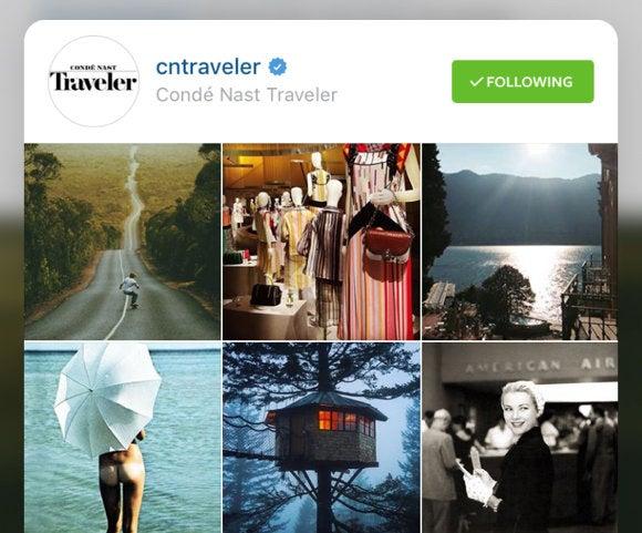 instagram peek 3d touch