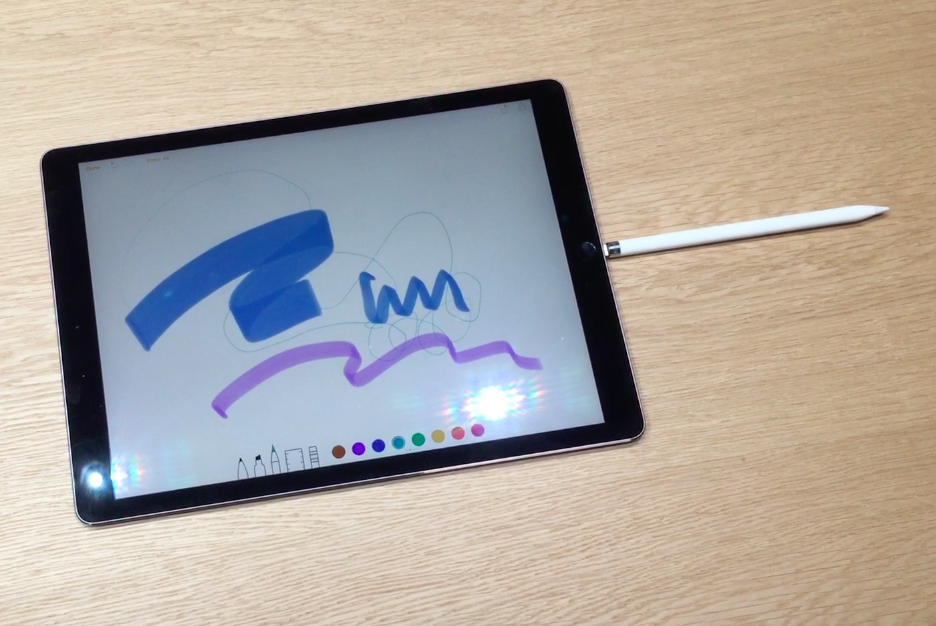 Hands On With IPad Pro And Apple Pencil Built For Getting