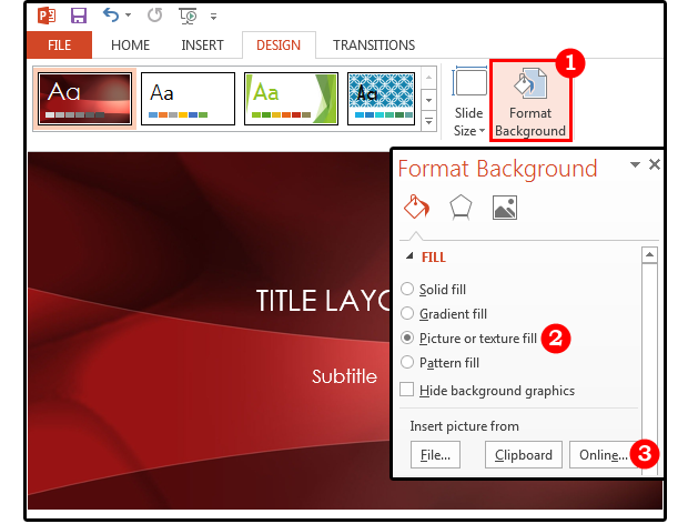 how to customize a powerpoint template - powerpoint background tips how to customize the images