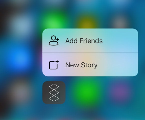 storehouse 3d touch