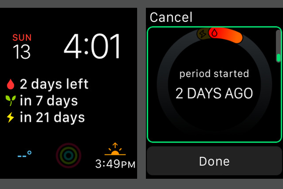 watchos 2 cycles