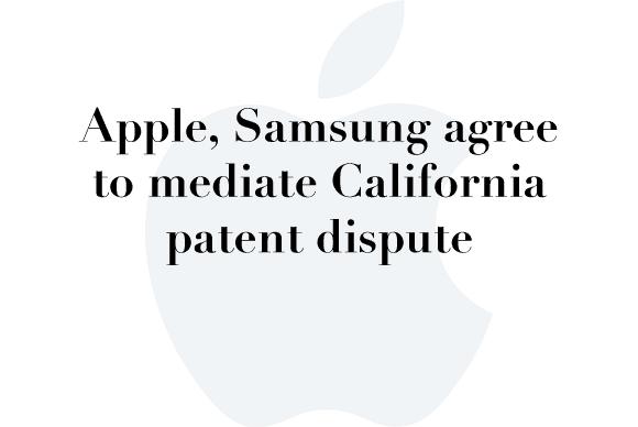 apple samsung mediation