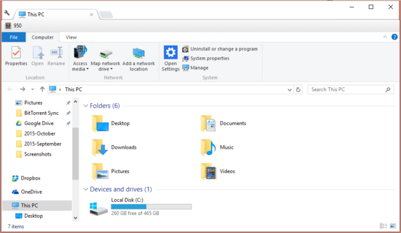 Clover 3.0.406: add tabs to File Explorer in Windows