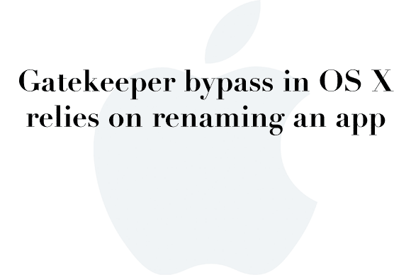 gatekeeper bypass