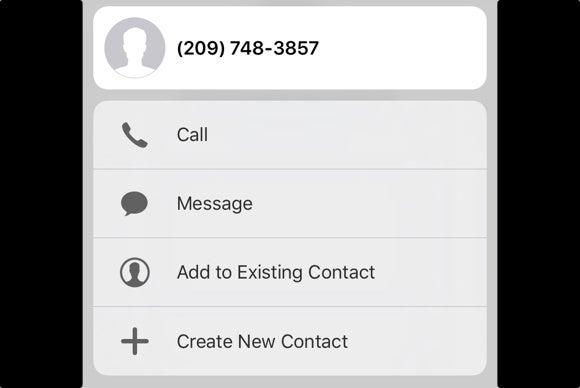 iphone 6s hidden tricks 3d touch contact