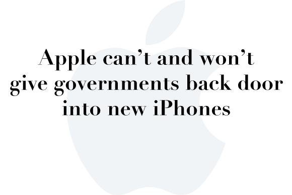 iphone backdoor