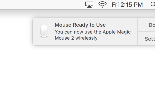 Pair magic mouse