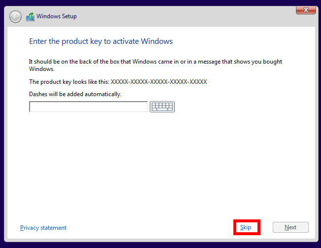 windows 10 pirated activation