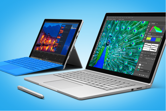 surface book surface pro 4 Microsoft
