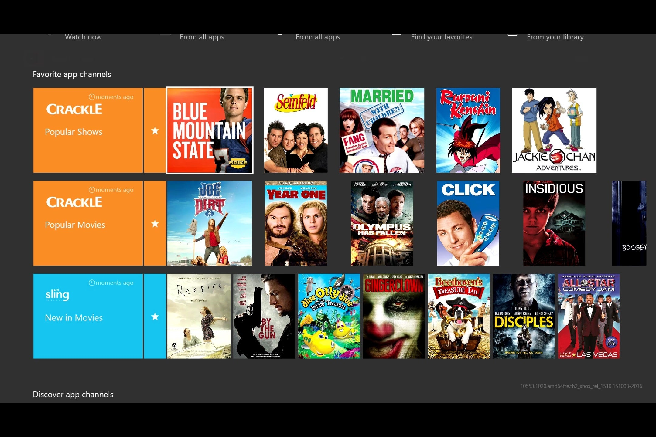 Xbox One gets Windows 10 Apps for Easy Access To Channels like Nick