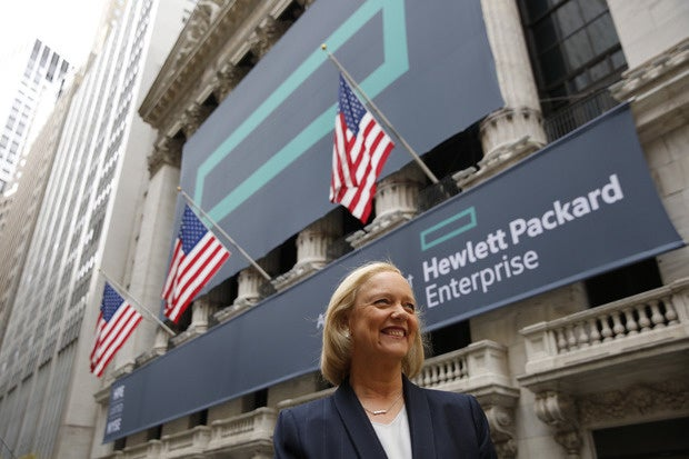 HP Enterprise spins off software businesses in $8.8B deal