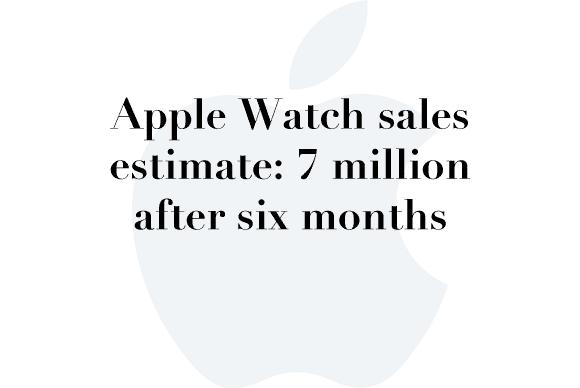 7 million apple watch