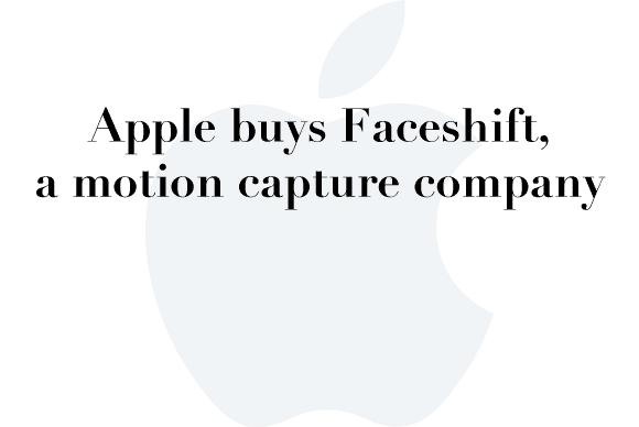 apple faceshift