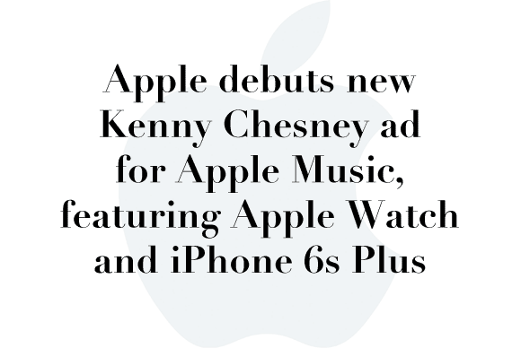 apple kenny chesney