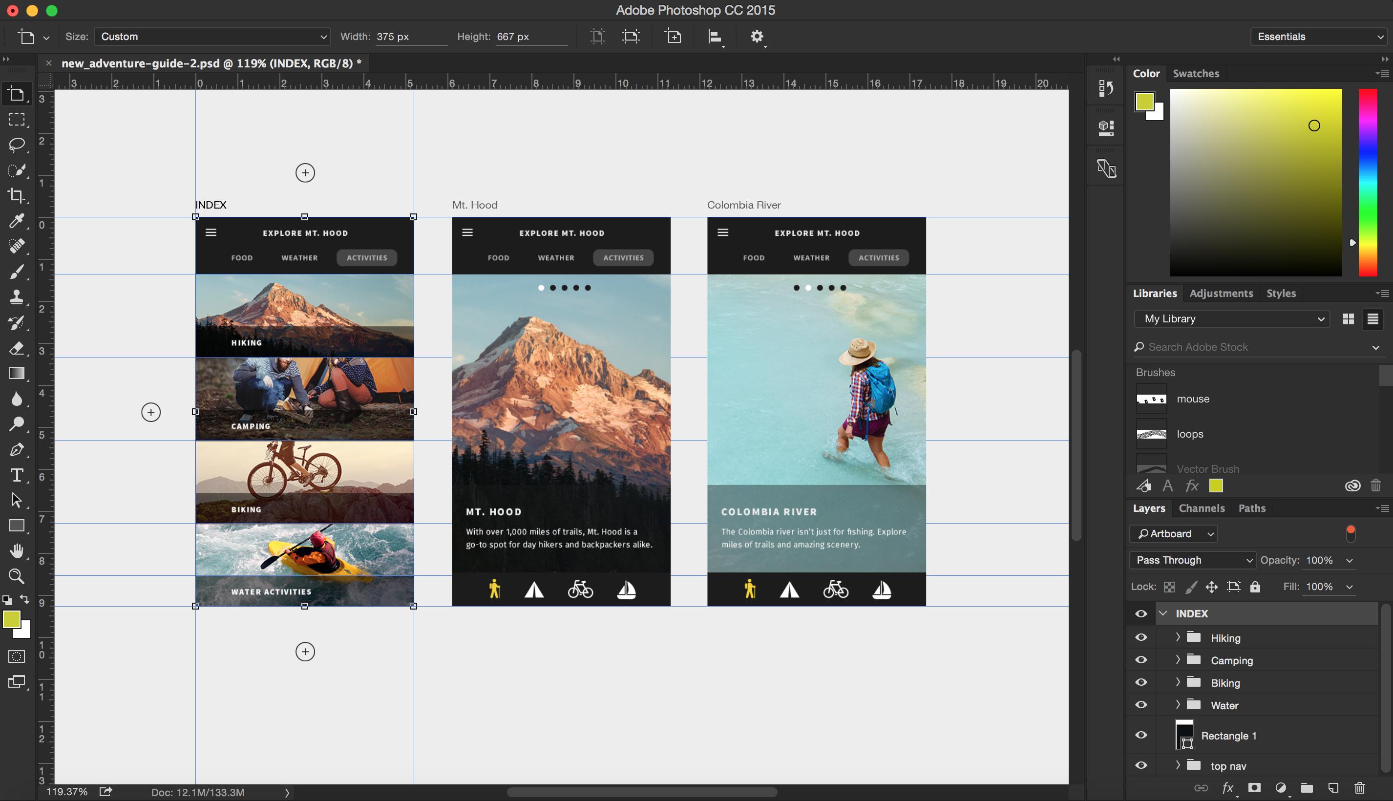Adobe photoshop и дизайн