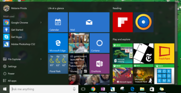 Hidden Windows 10 feature: Change the Start Menu size