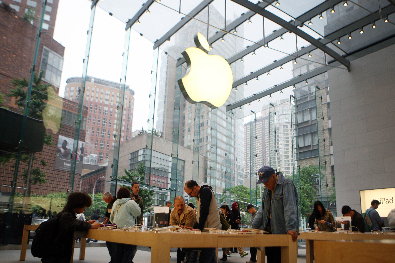 apple store luxury retail