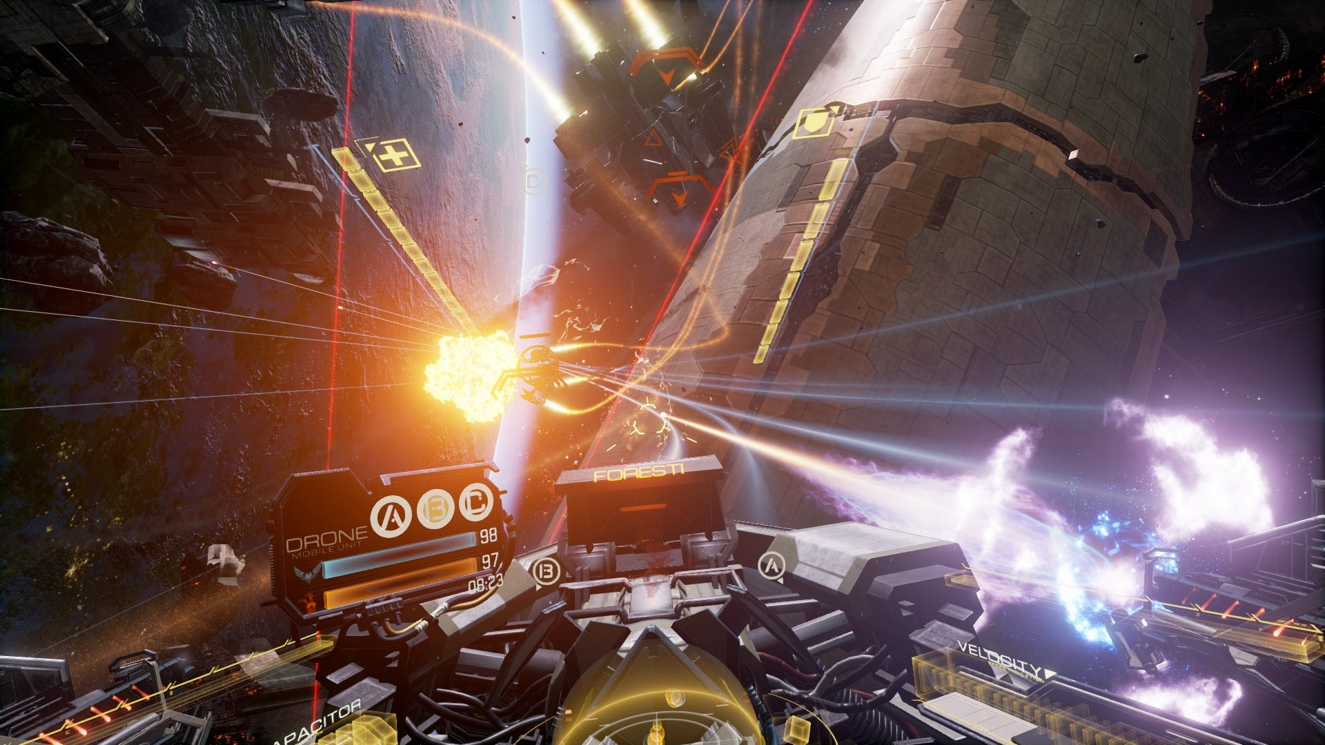 All Oculus Rift preorders will include exhilarating VR space combat