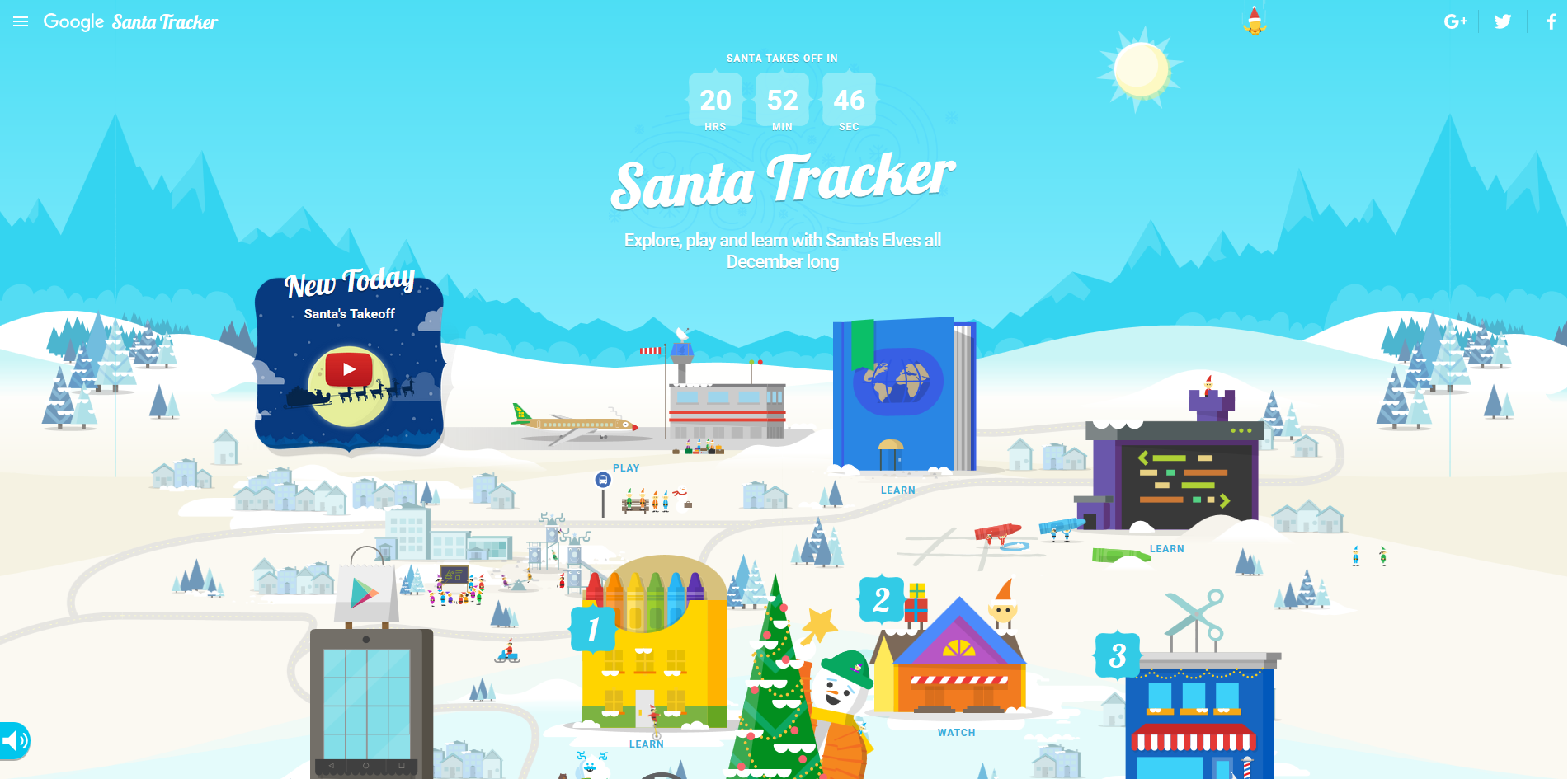 How to track santa claus on christmas eve from any device pcworld