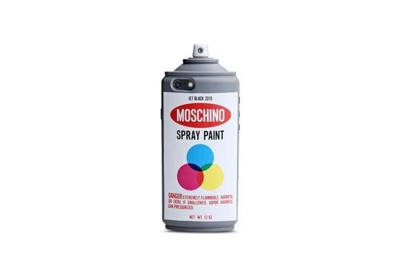 moschino spraypaint iphone