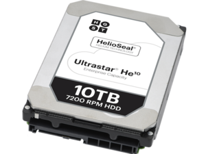 ultrastar he10 photo helium hard drive