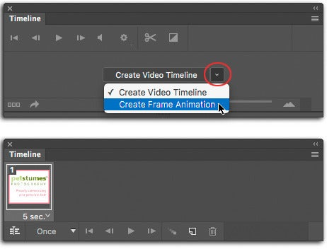 how to make animated gif images in photoshop cs6