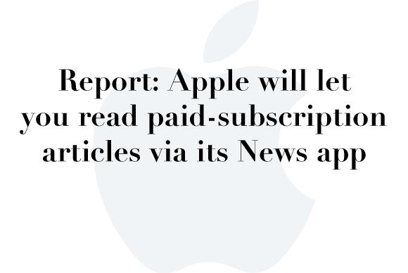 apple news paid subs
