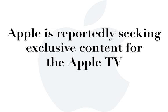 apple tv original content