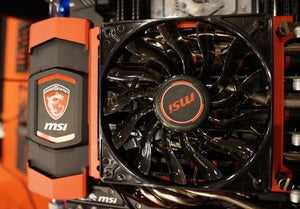 msi sli bridge with fan