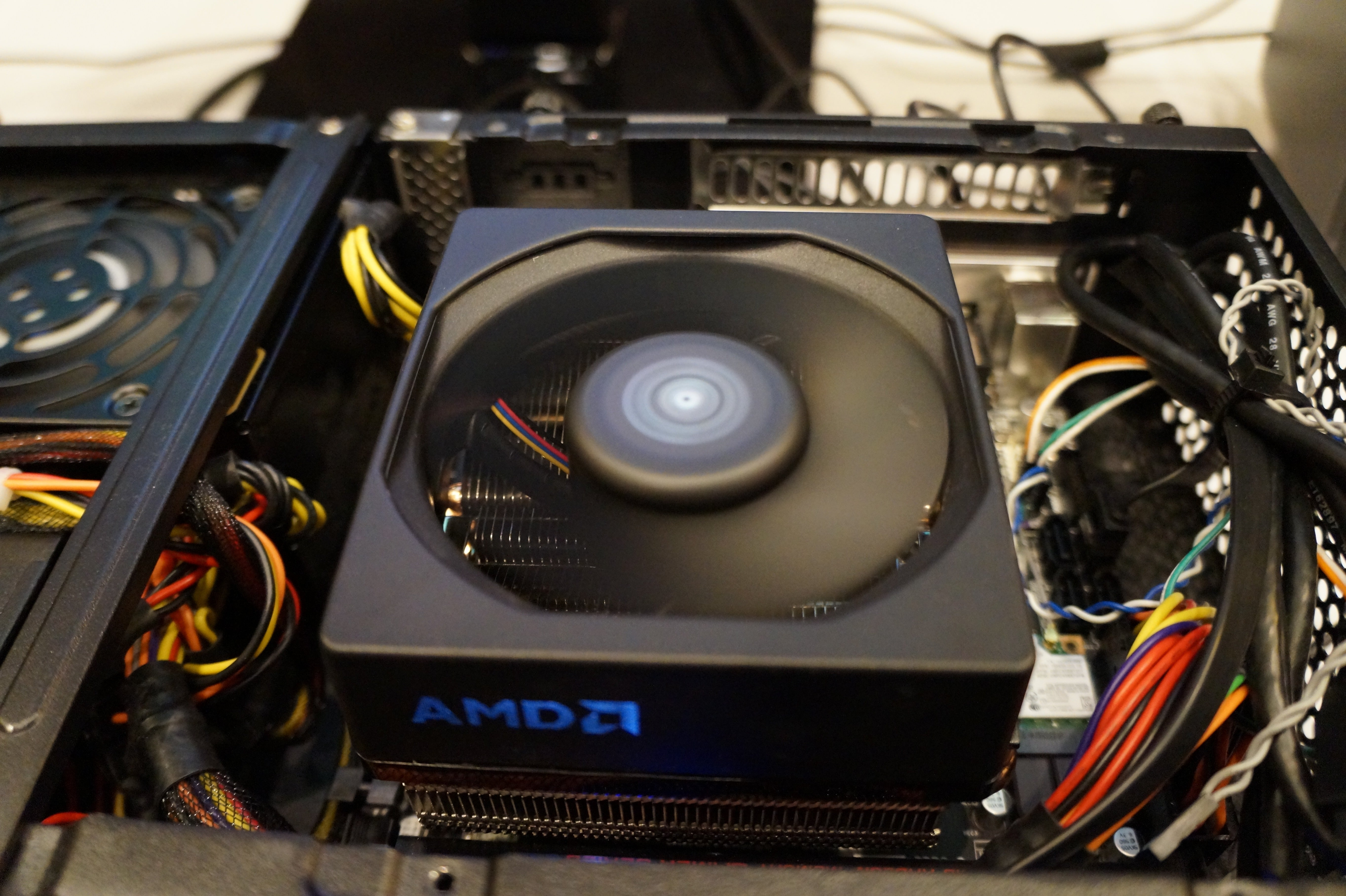 AMD Demos New Reference CPU Cooler