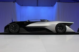 faraday future ffzero1 side shot ces 2016